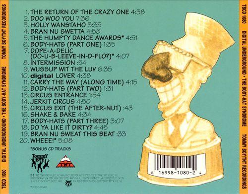 Digital Underground - The Body-Hat Syndrome (Back)