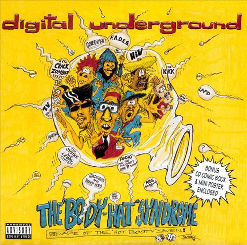 Digital Underground - The Body-Hat Syndrome (Front)