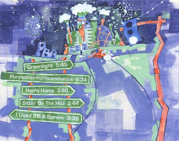 Digital Underground - The Greenlight EP (Back)
