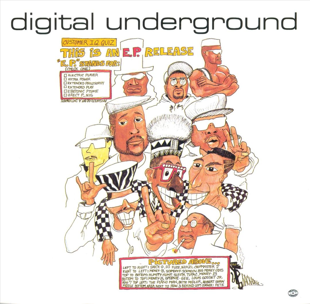 Digital Underground - This Is An E.P. Release (Front)