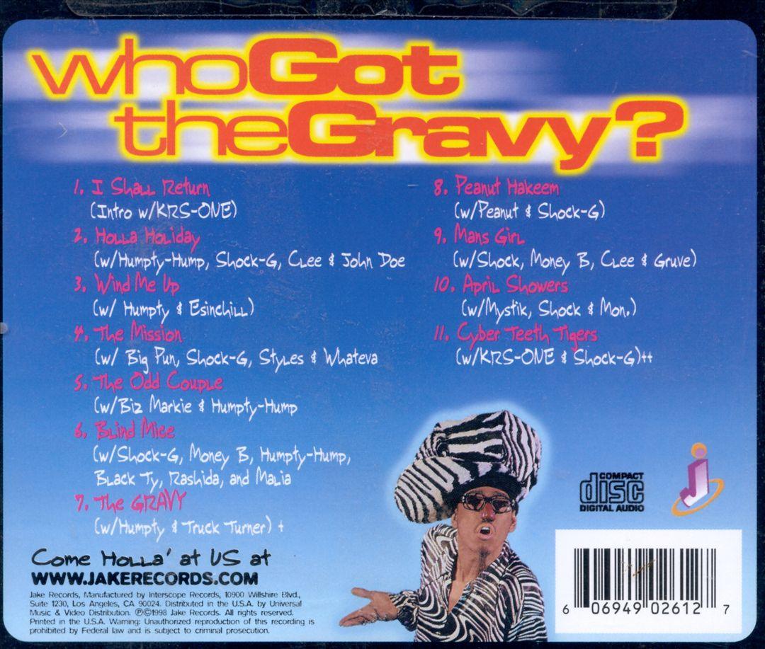 Digital Underground - Who Got The Gravy (Back)