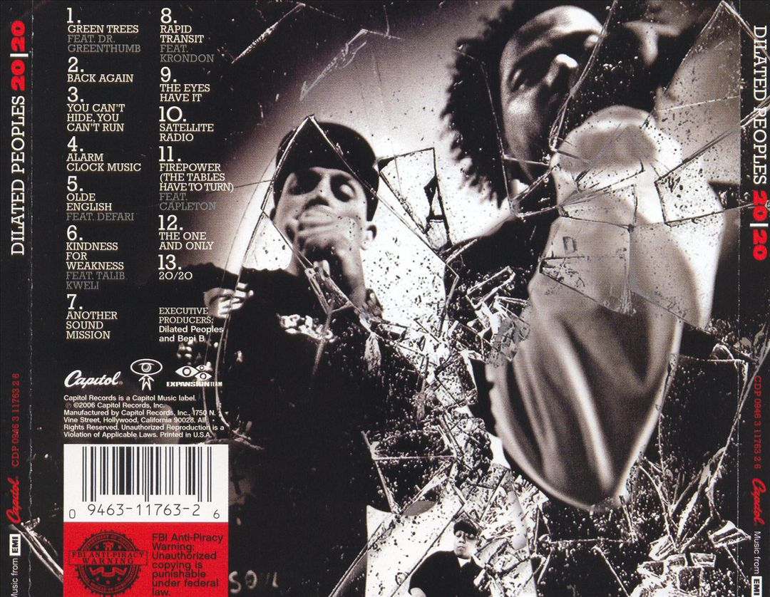 Dilated Peoples - 2020 (Back)