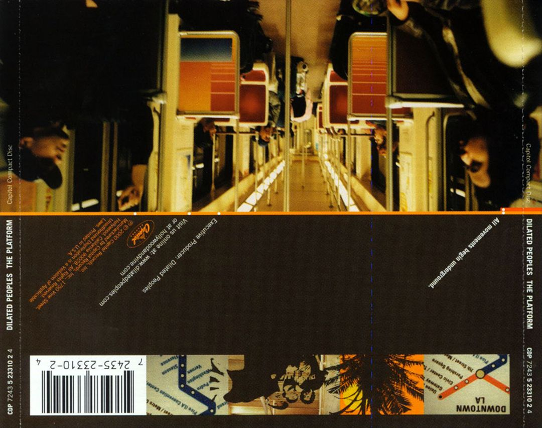 Dilated Peoples - The Platform (Back)