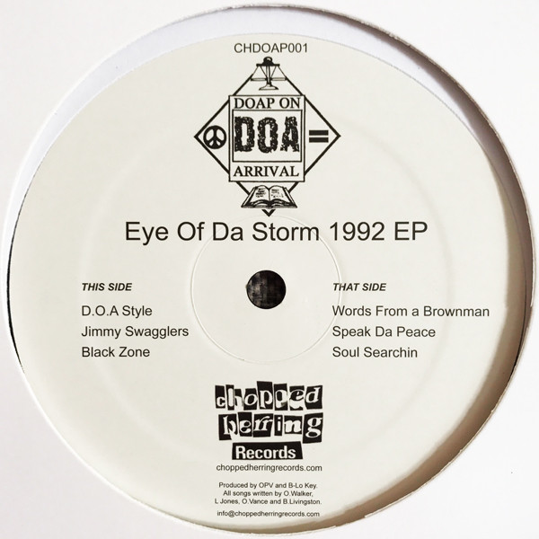 Doap On Arrival - Eye Of Da Storm 1992 EP (Inlay)
