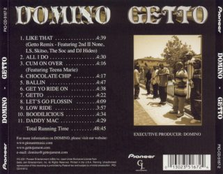 Domino - Getto (Back)