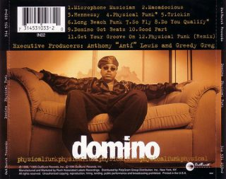 Domino - Physical Funk (Back)