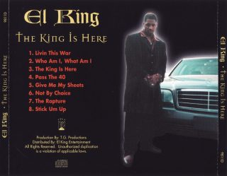 El King - The King Is Here (Back)