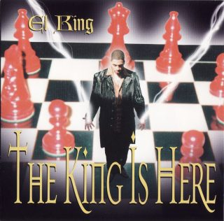El King - The King Is Here (Front)
