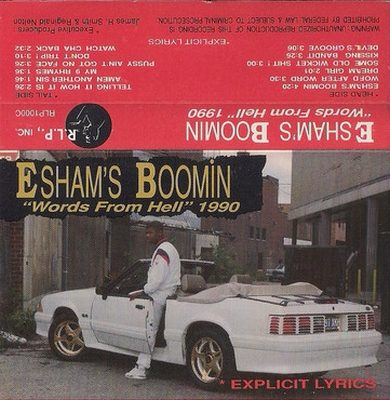 Esham - Boomin Words From Hell 1990