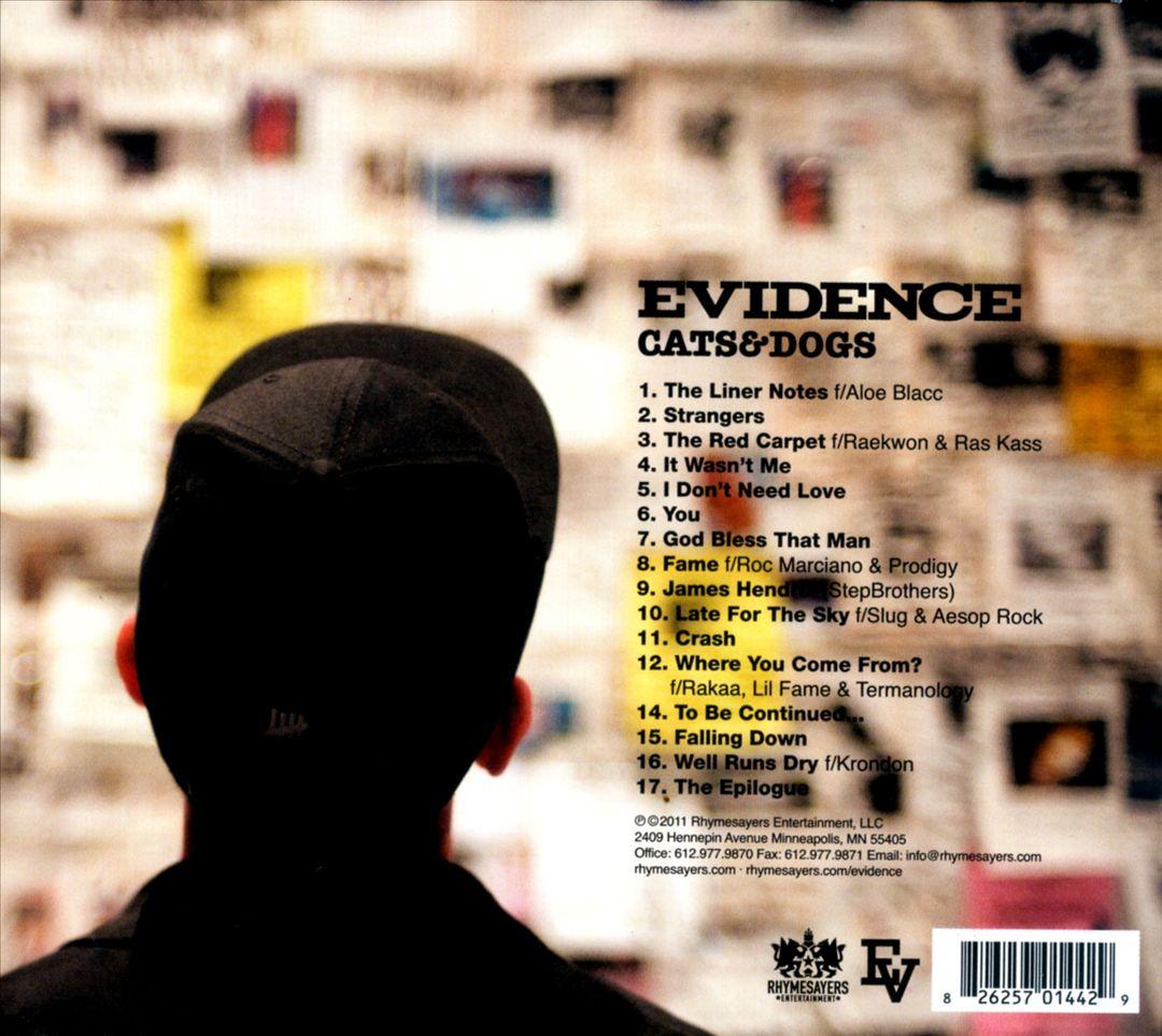 Evidence - Cats & Dogs (Back)