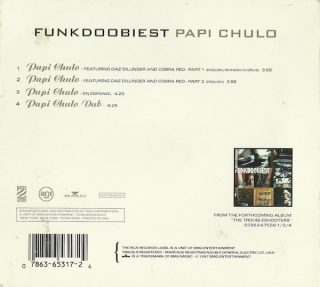 Funkdoobiest - Papi Chulo (Back)