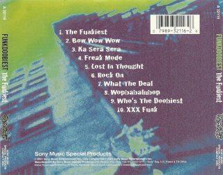 Funkdoobiest - The Funkiest (Back)