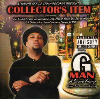 G Man Collectors Item