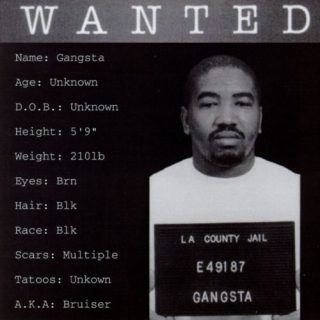 Gangsta Wanted Front