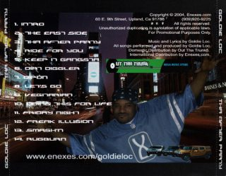 Goldie Loc - Tha After Party (Back)