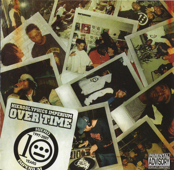Hieroglyphics - Over Time (Front)
