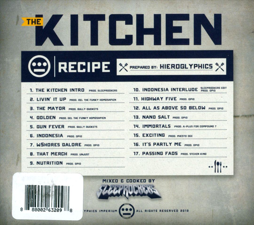 Hieroglyphics - The Kitchen (Back)