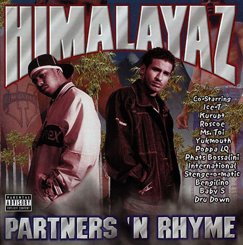 Himalayaz - Partners'N Rhyme (Front)