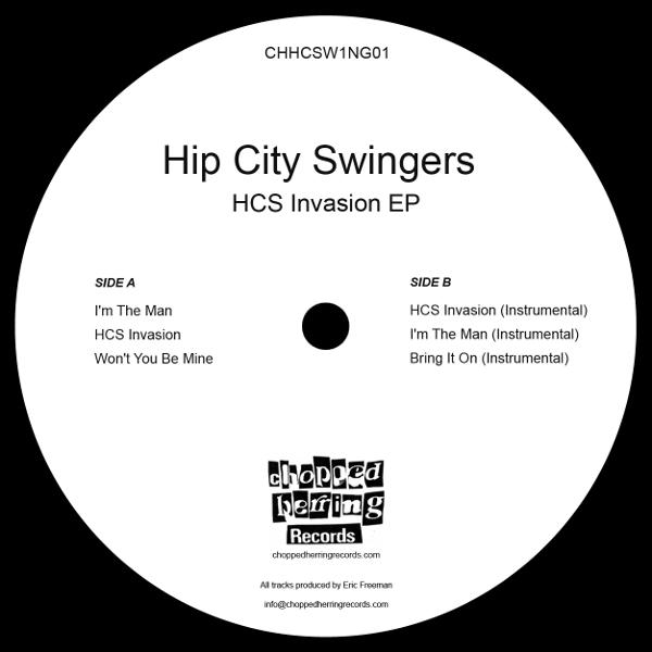 Hip City Swingers - HCS Invasion EP (Inlay)