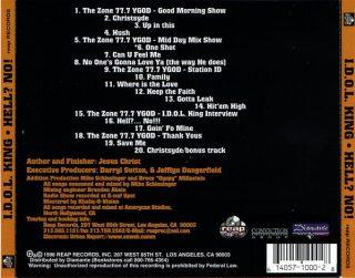 I.D.O.L. King - Hell No! (Back)