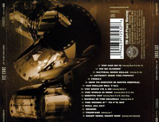 Ice Cube - In The Movies (Back)