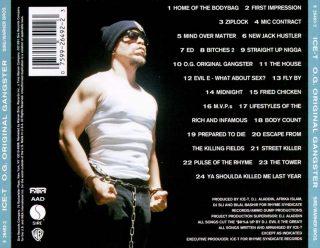 Ice-T - O.G. Original Gangster (Back)