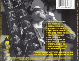 Ice-T - The Iceberg (Freedom Of Speech... Just Watch What You Say) [Back]