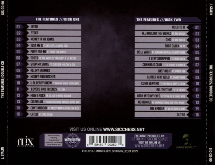J. Stalin - The Features (Back)