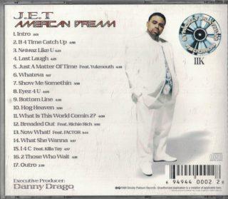 J.E.T American Dream Back
