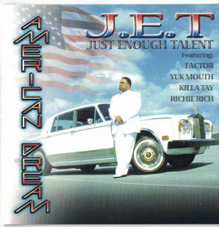 J.E.T American Dream Front