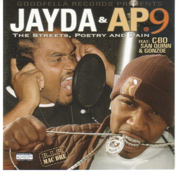Jayda & AP.9 - The Streets, Poetry And Pain (Front)