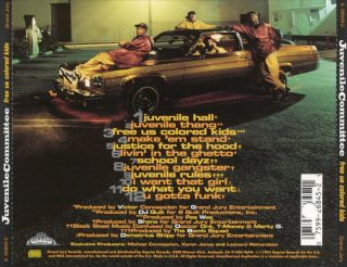 Juvenile Committee - Free Us Colored Kids (Back)