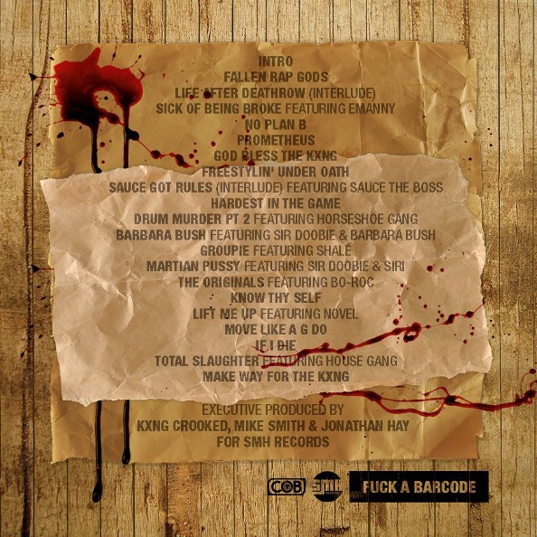 KXNG Crooked - Sex, Money & Hip Hop (Back)