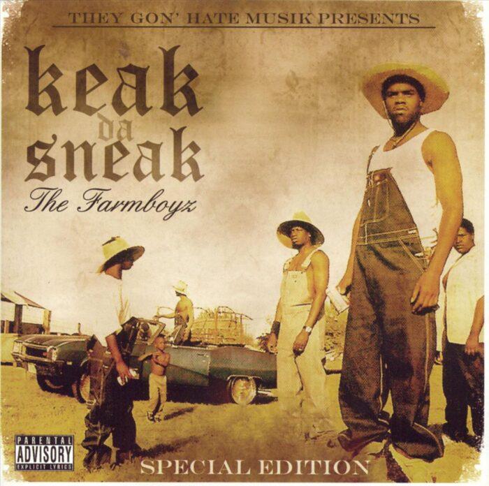 Keak Da Sneak - The Farm Boyz (Special Edition) [Front]
