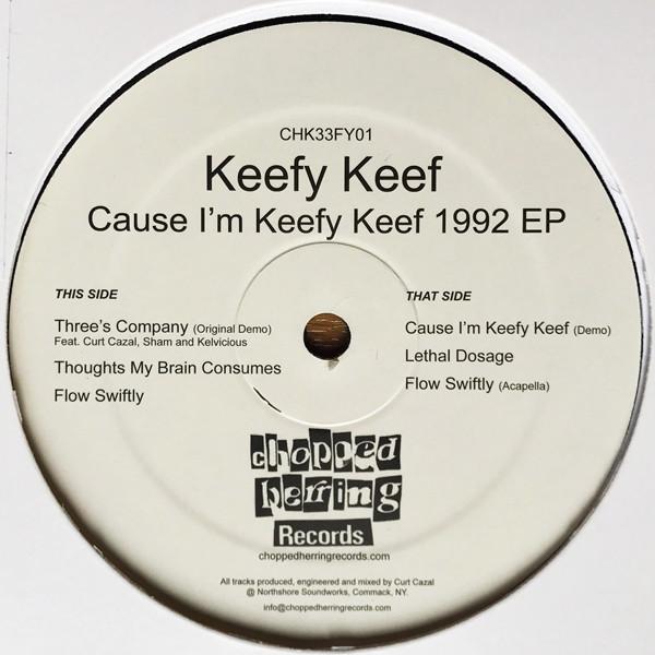Keefy Keef - Cause I'm Keefy Keef 1992 EP (Inlay)