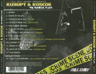 Kurupt Roscoe Tha Tekneek Files Back