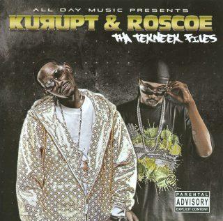 Kurupt Roscoe Tha Tekneek Files Front