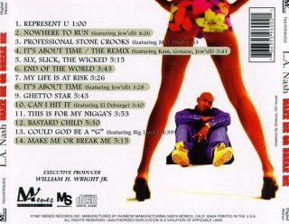 L.A. Nash - Make Me Or Break Me (Back)