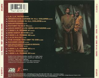 L.A. Posse - They Come In All Colors (Back)