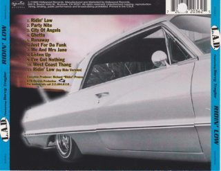 L.A.D. Featuring Darvy Traylor - Ridin' Low (Back)