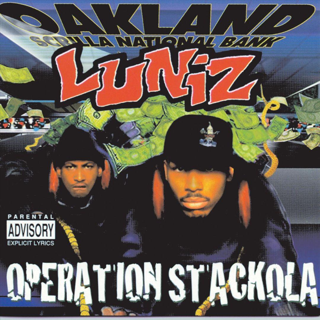 Luniz - Operation Stackola (Front)