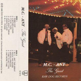 M.C. Ant - M.C. Ant The Great
