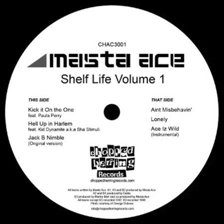 Masta Ace - Shelf Life Volume 1 (Inlay)