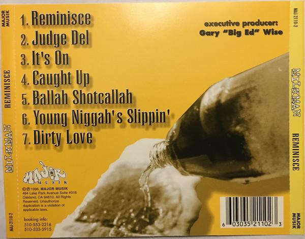 Milkman - Reminisce (Back)