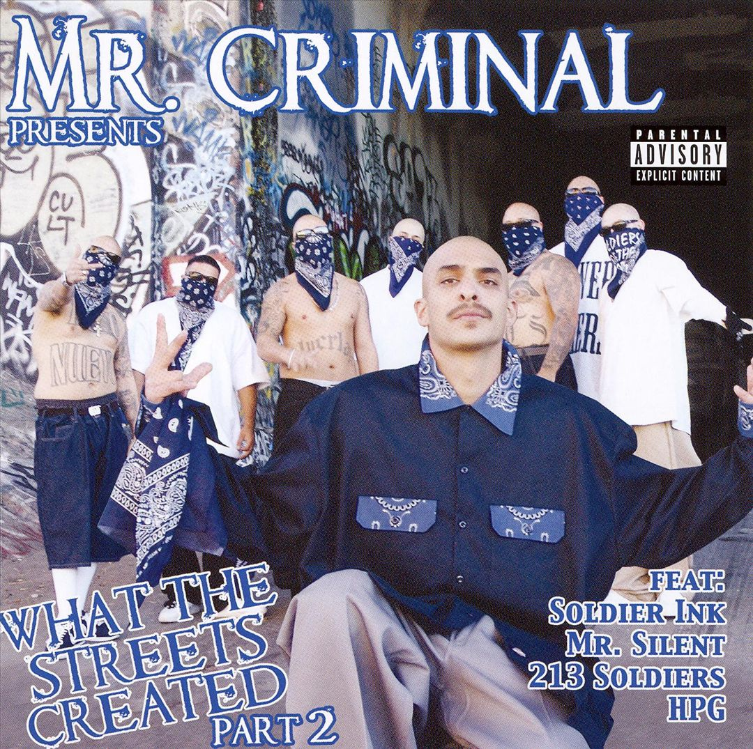 Mr. Criminal - What The Streets Created Part 2 (Front)