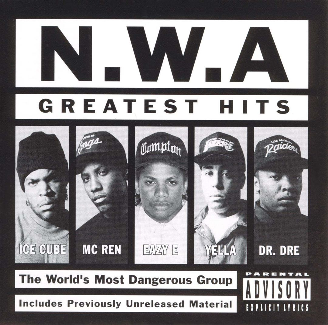 N.W.A Greatest Hits Front
