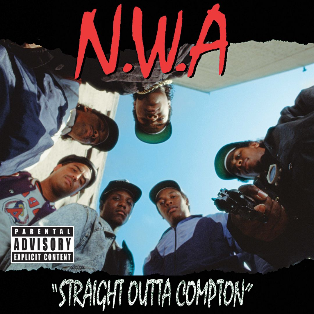 N.W.A Straight Outta Compton Front