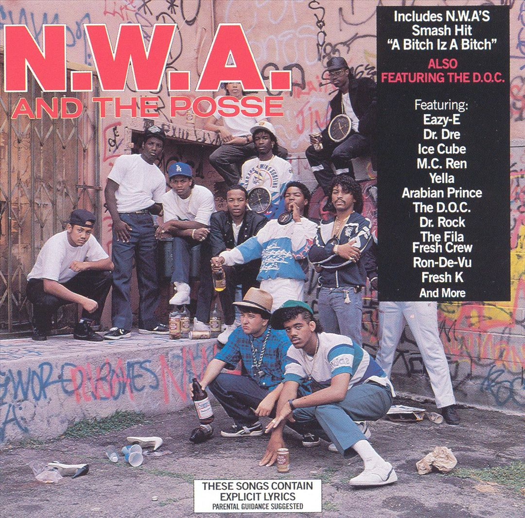 N.W.A. N.W.A. And The Posse Front