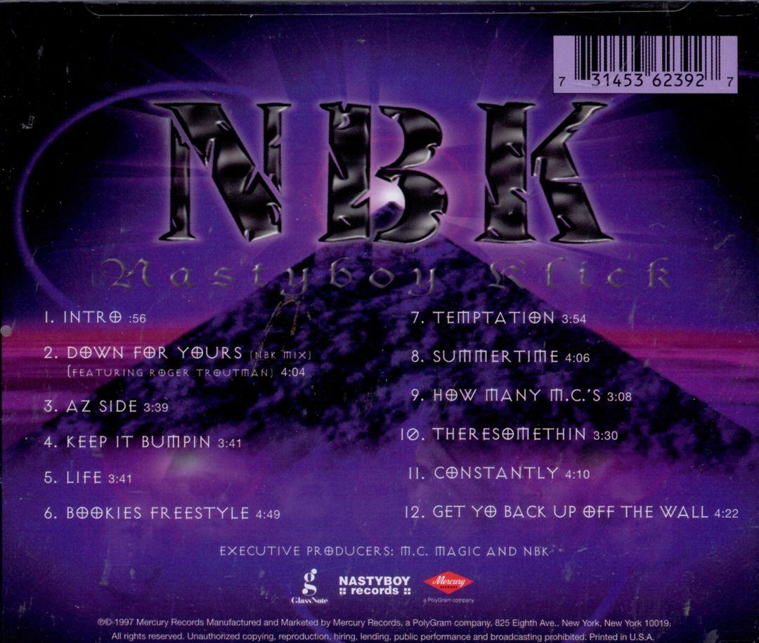 Nastyboy Klick - Tha 1st Chapter (Back)
