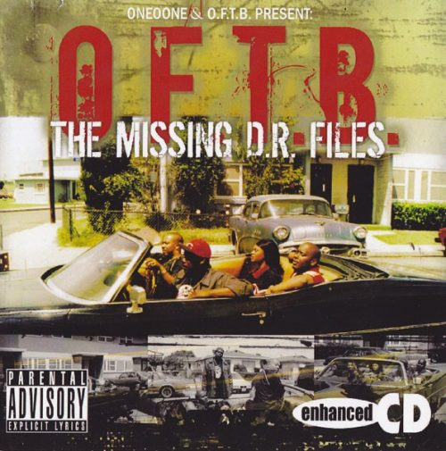 O.F.T.B. - The Missing D.R. Files (Front)